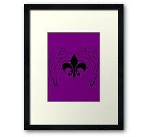 Saints row Framed Print