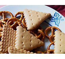 Biscuits & pretzels Photographic Print