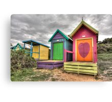 Colorful Boxes Canvas Print