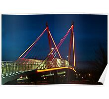 The Delta Ponds Bridge Poster