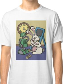 Teddy Bear And Bunny - It's All Fun And Games Classic T-Shirt