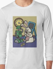 Teddy Bear And Bunny - It's All Fun And Games Long Sleeve T-Shirt