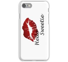 River song mono from Dr who iPhone Case/Skin