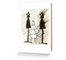 little reindeer Greeting Card