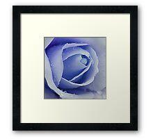 Dreaming in Blue Framed Print