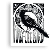 Bird Nouveau Canvas Print