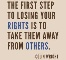 The First Step by Colin Wright