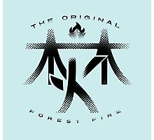 Forest Fire - 'Kanji' Photographic Print