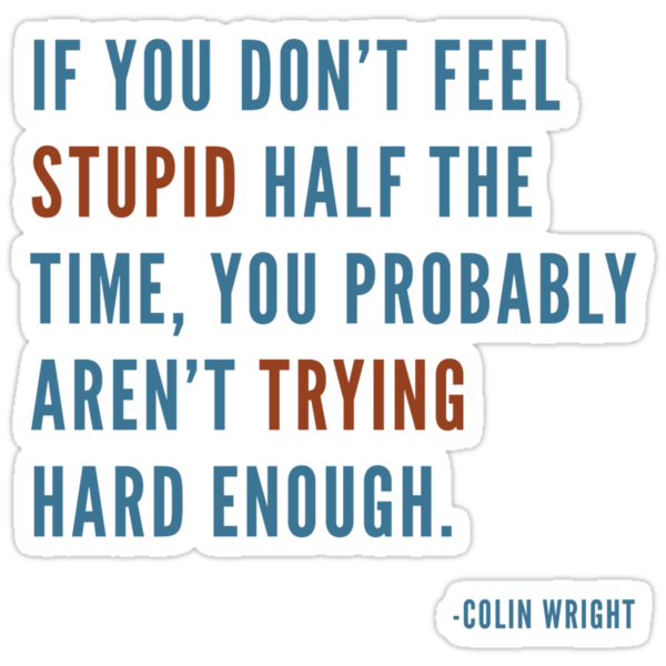 Stupidity by Colin Wright