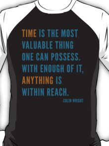 Time is Valuable T-Shirt