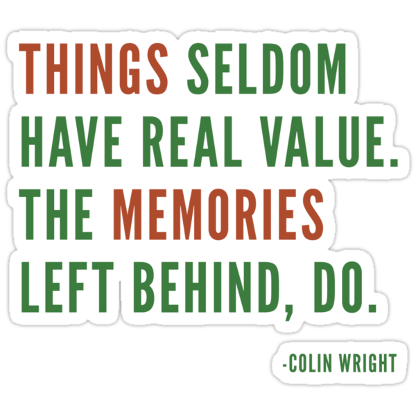 Things by Colin Wright