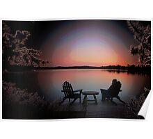 evenings at loon lake Poster