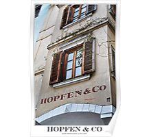 hopfen & co Poster
