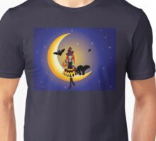 Witch on the Moon 4 Unisex T-Shirt