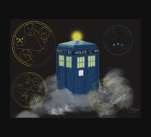 dr who tardis Kids Tee