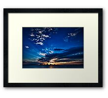 Good Morning with Love Framed Print