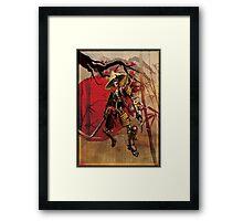 Dead Samouri Framed Print