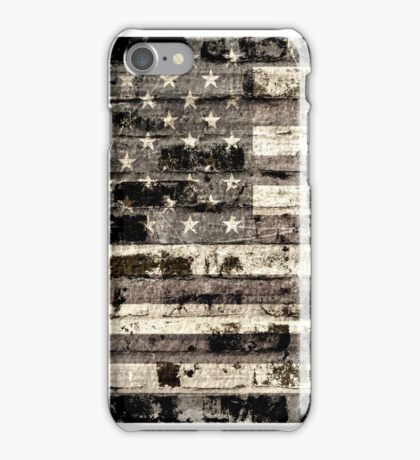 Old American Flag 2 iPhone Case/Skin