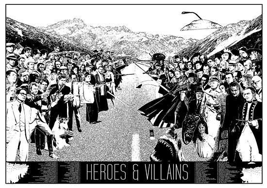 Heroes & Villains by Donal Murphy
