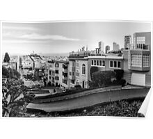 Lombard Street, San Francisco Poster