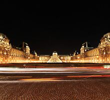 The Louvre Museum by Beh Meng Khiang