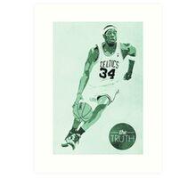 Celtics The Truth Art Print