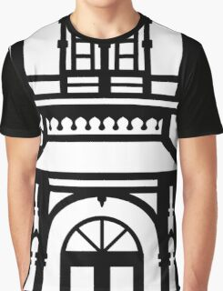 Victorian House - black & white Graphic T-Shirt