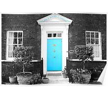 Blue Door, Tower of London Poster