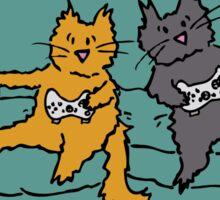 Gamer Cats Sticker