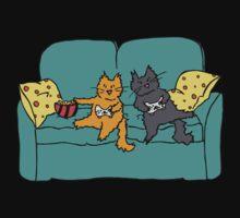 Gamer Cats Kids Tee