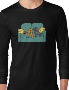 Gamer Cats Long Sleeve T-Shirt