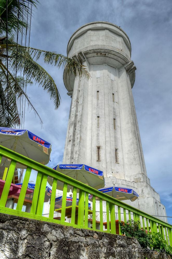 Historical Places of Nassau, The Bahamas: The Water Tower by Jeremy Lavender Photography