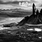 The Old Man of Storr (mono) by Angie Latham