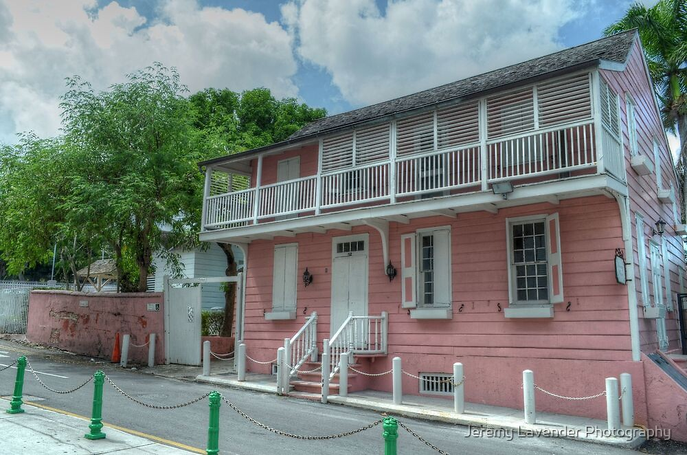 Historical Places of Nassau, The Bahamas: Balcony House by Jeremy Lavender Photography