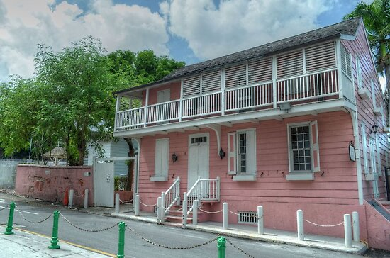 Historical Places of Nassau, The Bahamas: Balcony House by 242Digital