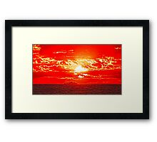 Under A Different Light Framed Print
