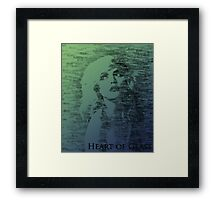Heart of Glass Framed Print