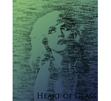 Heart of Glass Photographic Print