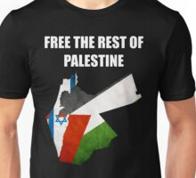 Free The Rest Of Palestine Unisex T-Shirt