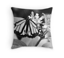 Monarch. Throw Pillow