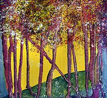 Trees forever by Elizabeth Kendall