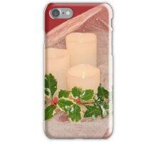 Christmas Greetings iPhone Case/Skin