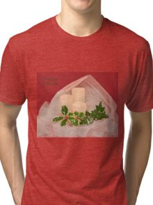 Christmas Greetings Tri-blend T-Shirt