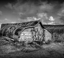 Fisherman's Hut in Mono. by Colin Metcalf