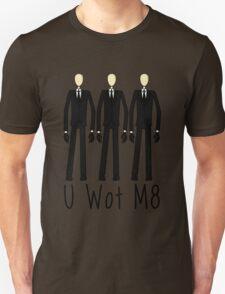 U Wot Slenderman Unisex T-Shirt