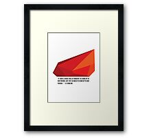 Harry Potter & the Philosophers Stone Framed Print