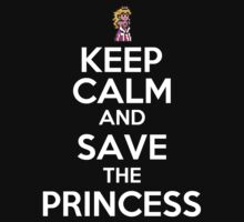 KEEP CALM AND SAVE THE PRINCESS by alexcool
