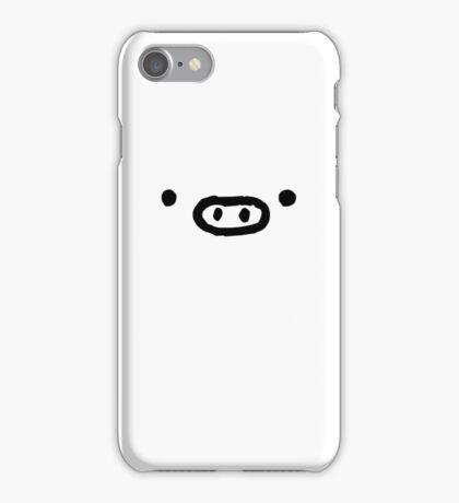 Monokuro Boo - White iPhone Case/Skin