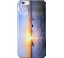 Bay view sunset iPhone Case/Skin