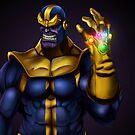 Thanos - Marvel Villain Series by ericvasquez84